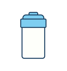 Jar emblem object vector