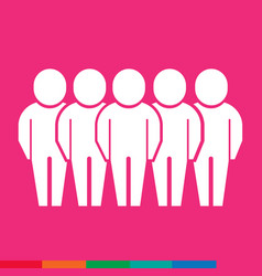 Population people icon design vector