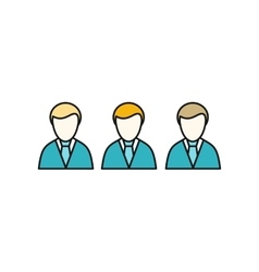 Social Icon Employees vector