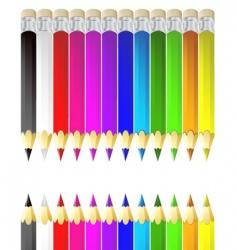 color pencil vector image vector image