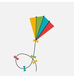Kite icon vector