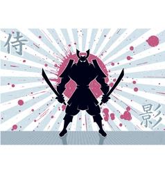 Samurai Background vector image
