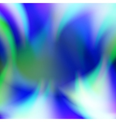 Abstract blue flame fire background vector image vector image