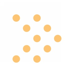 Arrow icon digital sign direction pointer button vector image