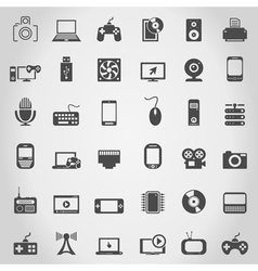 Electronics an icon vector image vector image