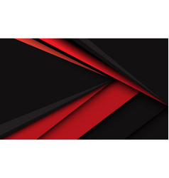 Abstract red triangle arrow speed direction dark vector