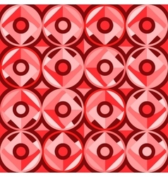 Abstract seamless circles vector image