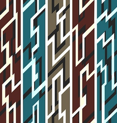 Ancient geometric seamless pattern vector