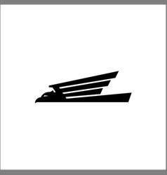 Eagle logo animals vector