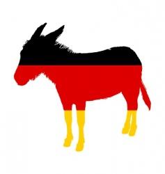 German donkey vector