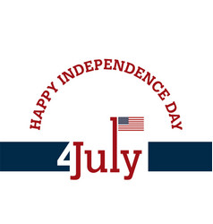 independence day background and badge logo with vector image