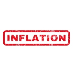 Inflation Rubber Stamp vector