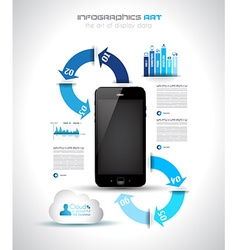 infographics concept to display your data vector image