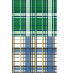 Plaid check pattern vector