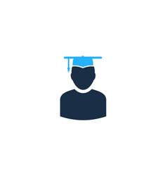 School user logo icon design vector