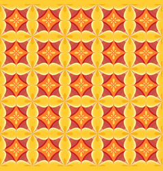 seamless pattern with a geometrical ornament vector image