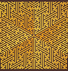Swastika ornament background vector