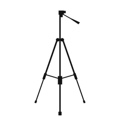 New tripod simple icon vector image vector image