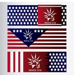 united states of america design vector image