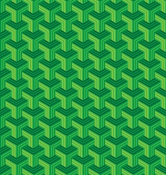 Abstract polygon stripes seamless pattern vector image