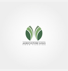 Agriculture logo template logo for business vector