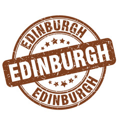 Edinburgh stamp vector