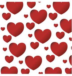 Heart love romanticism vector