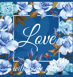 love will come soon vector image