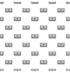 Stack of dollars pattern vector