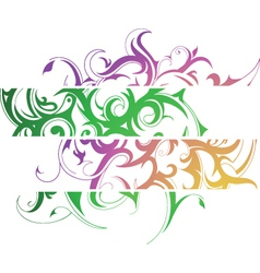 tattoo banners vector image