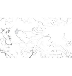 world map central asia region asia interior vector image