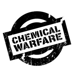 chemical warfare rubber stamp vector image