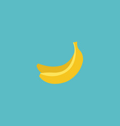 flat icon banana element of vector image