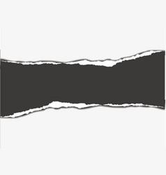 tear paper vector image