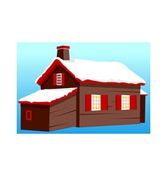 A house stand on vector