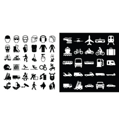 Construction and transport vector image