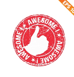 Excellent rubber stamp - - EPS10 vector