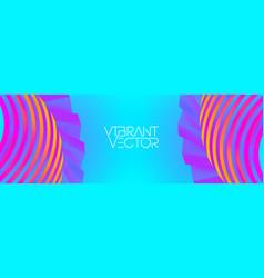 Geometric colorful background futuristic digital vector