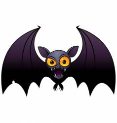 halloween vampire bat vector image