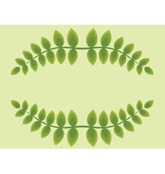 Leaf frame vector