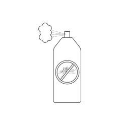 mosquito spray vector image