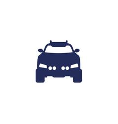 off road car suv icon vector image