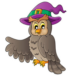 Owl theme image 2 vector
