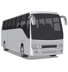 passenger city bus vector image