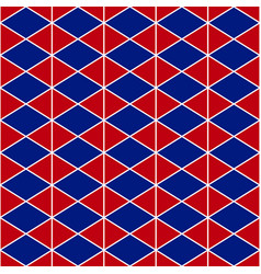 red navy blue triangle vector image