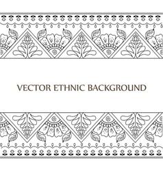 Tattoo henna background vector