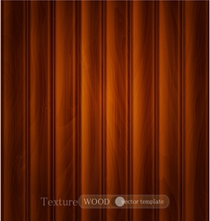 wood background texture dark brown wooden plank vector image