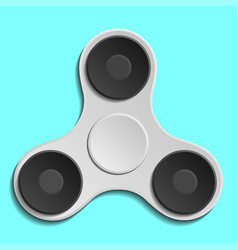 Hand spinner fidget toy for increased focus vector