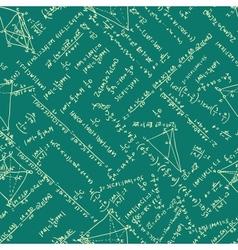 Maths seamless pattern EPS 8 vector image