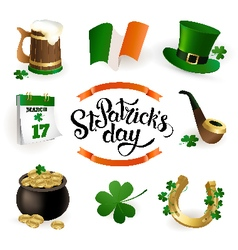 StPatrick set new vector image